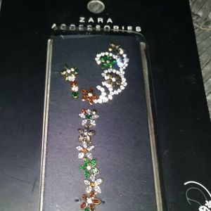 Today only $15 make offerZara earpiece crystals OS